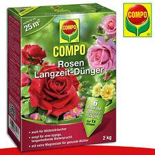 COMPO 2 kg Rosen Langzeit-Dünger | Auch für Blütensträucher