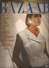 Bazaar February 1964 New York's World Fair -Diane Arbus-Margaret Shedd- Roethke