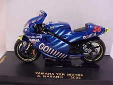 Ixo 1/24 Diecast Yamaha YZR 500, '02 GO!!!!!!! (Gauloises) #56, S Nakano #RAB036