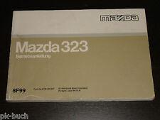 Betriebsanleitung Mazda 323 Stand 1994