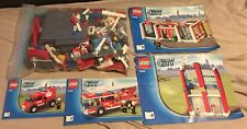 LEGO City 7208 Firefighters Complete Set with instruction booklets 1 , 2 , 3 & 4