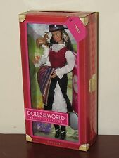 Chile Passport Barbie Dolls of the World NRFB 2012 #W3494 DOTW Huaso Cowboy