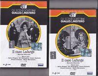 2 Dvd Sceneggiati Rai IL CASO LAFARGE di M.Leto con Paola Pitagora completa 1973