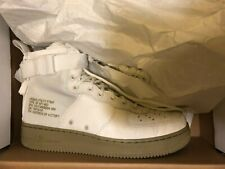 Nike SF Air Force 1 Mid Ivory Olive Size 10 917753-101