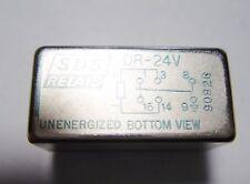 10 x SDS Relais 24V 1xUM 125V 0,3A 30V 1A SDS DR-24V Gold #12R39B#