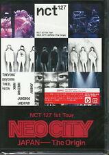 NCT 127-NCT 127 1ST TOUR NEO CITY : JAPAN - THE ORIGIN-JAPAN 2 DVD K81 zd