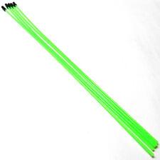 56411G receptor RC Cable De Antena Tubo Con Tapas X 5 Verde Fluorescente 380 mm largo