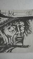 BERNARD BUFFET le salon : la nuit 1977