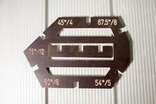 Einstellwinkeln Rahmenwinkel für Kappsäge Fortmatkreissäge Fräsmaschine Montage