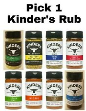 Pick 1 Kinder's Rub Seasoning