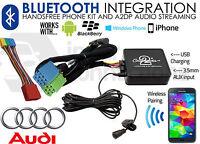 Audi A6 1997-2004 Bluetooth music streaming handsfree car kit AUX USB MP3 iPhone