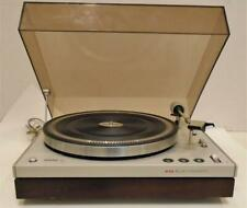 Vintage Philips GA-212 turntable with dustcover  VG working condition