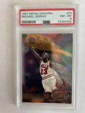 1997-98 Metal Universe #23 Michael Jordan PSA 8 NM-MT