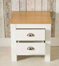 ^ Bedroom Furniture 2 Drawer Bedside Table Night Stand Chest Cabinet White 28=21