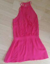 Lipsy London LongTop Minikleid Reine Seide Pink Gr. 36/38 NEU mit Etikett