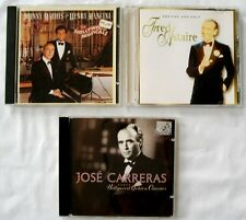 3 HOLLYWOOD MUSICALS CDs - Jose Carreras - Fred Astaire - Johnny Mathis Mancini