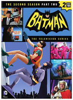 Batman: Season Two 2, Part Two (4-DVD Set) • NEW • Adam West, TV Series, Second