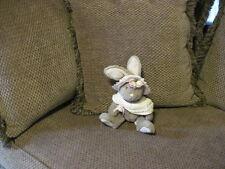 "RARE 10"" RUSS plush MITSY Bunny Rabbit with Shawl & Hat"