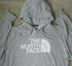 The North Face Mens XXL Blended Fabric Big Logo Pullover Sweater Hoodie