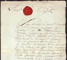 Général LAHURE autographe 1794