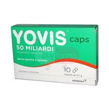 Yovis Caps - Integratore di Fermenti Lattici da 50 Miliardi - 10 Capsule da 0,7g