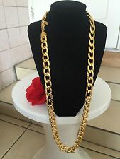 "Men's 32"" SG1503 18K Gold Chain Necklace Birthday Valentine's Gift Life Warranty"
