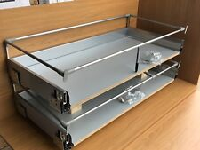 KITCHEN DRAWERS TO FIT 1000mm CABINET 2 PAN PACK SOFT CLOSE (4022) Clearance