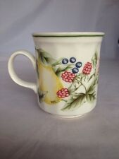 Churchill England Coffee Cup Mixed Fruit Pear Design