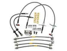 DA7561 Discovery 3 And 4 Stainless Steel Braided Brake Hose Set
