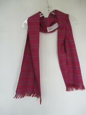 Liz Claiborne Women's 11 Inches by 57.5 Inches Cotton Silk Striped Vintage Scarf