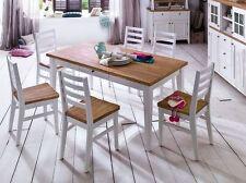 Markenlose Tisch- & Stuhl-Sets mit bis zu 6 Sitzplätzen fürs Wohnzimmer