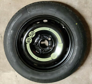 """MERCEDES C CLASS W204 16"""" SPACE SAVER SPARE WHEEL CONTINENTAL 2044000302 T125/90"""