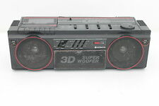 HITACHI trk-3d2e SUPER WOOFER Radio Boombox