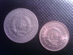 YUGOSLAVIA   10   PARA  1974    2    DINARA  1971    SEP24