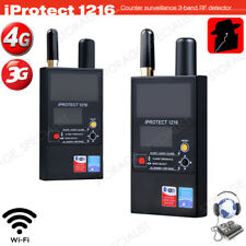 Professional Camera Detector Protect 1216i Listening Device GPS Bugs finder