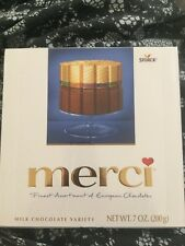 MERCI Milk Chocolate finest assortment 4 flavors of European chocolates 7 oz.