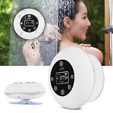 Hott Waterproof Shower Bluetooth Speaker FM Radio Stereo Wireless Loudspeaker TP