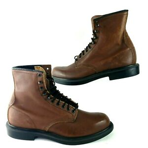 """Red Wing 953 Supersole Men's Leather 8 """" Soft Toe Work Boots Size 13 AA  ASTM"""