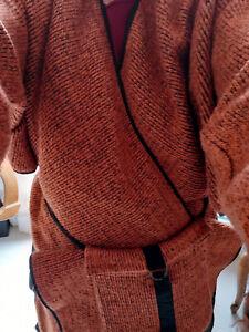 Original   Poncho ou veste  ... alpaga, laine, mohair .....