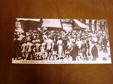 Milano nel 1919 La gente assalta i negozi per i prezzi proibitivi della merce