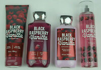 Bath & Body Works Black Raspberry Vanilla Fragrance Mist Body Cream Lotion Wash