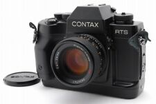 Contax RTS III 35mm SLR Film Camera Body w/Planar 50mm F1.4 Lens From Japan B490