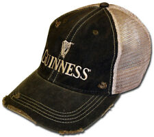 Guinness Beer Retro Brand Mesh Adjustable Snapback Trucker Hat Cap