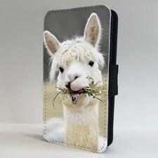 Alapaca Animal Lindo Funda para Estuche de Teléfono Abatible de la naturaleza IPHONE SAMSUNG