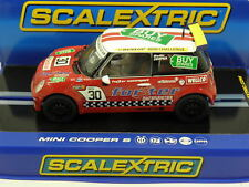Scalextric C3103  Slot Car Mini Cooper S Fahrer Martin Depper No.30 M.1:32