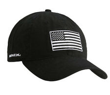 "Mack Trucks Black ""Born Ready"" Tactical USA Flag Patch Snapback Cap"