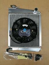 Classic Racing AUSTIN MINI High Flow Radiator Radiator  + Electric Fan