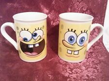 2 - Spongebob Squarepants Mugs Viacom 2012 in GUC