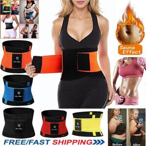 Fajas Waist Trainer Weight Loss for Women Sweat Thermo Wrap Body Shaper Belt Gym