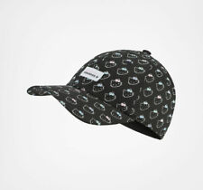 Converse X Hello Kitty Flower Dad Cap Hat Black Fashion Rare Sold Out Gift